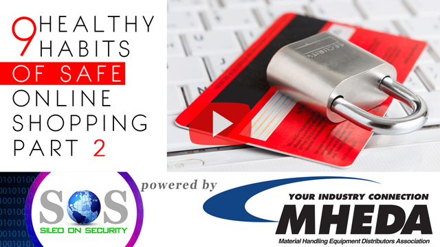 9 Healthy Habits of Safe Online Shopping Part 2