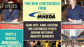 MHEDA Parts and Service / Engineered Systems and Storage & Handling Conference Promo