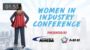 Conquer Tomorrow at the Women in Industry Conference